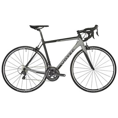 Vélo de Course VOTEC VRC COMP Shimano Ultegra Mix 36/52 Noir/Gris